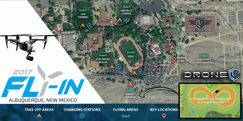 Albuquerque Academy Campus Map.Droneu Fly In Official Press Release Drone U