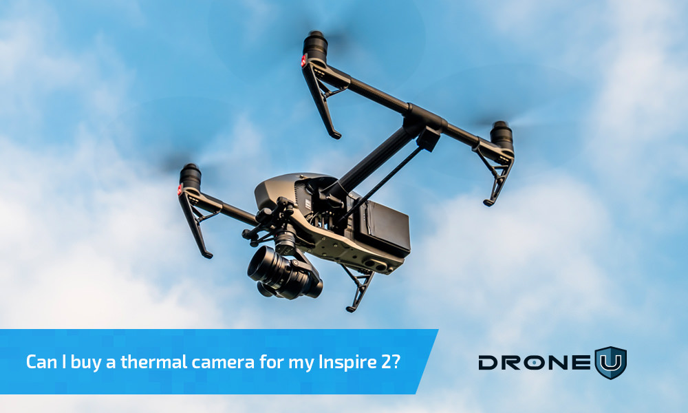 Can I use a thermal camera with the inspire 2?