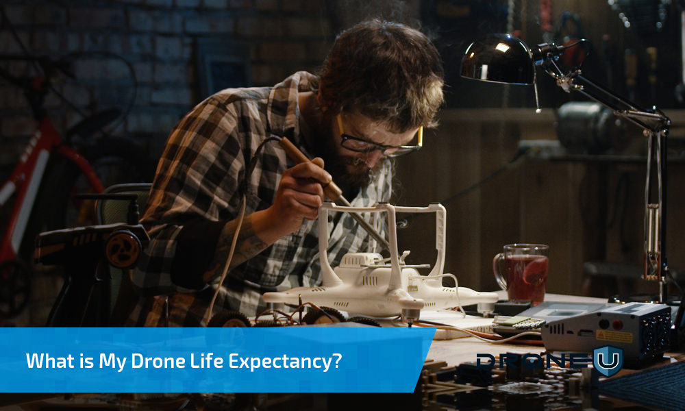 Drone life expectancy