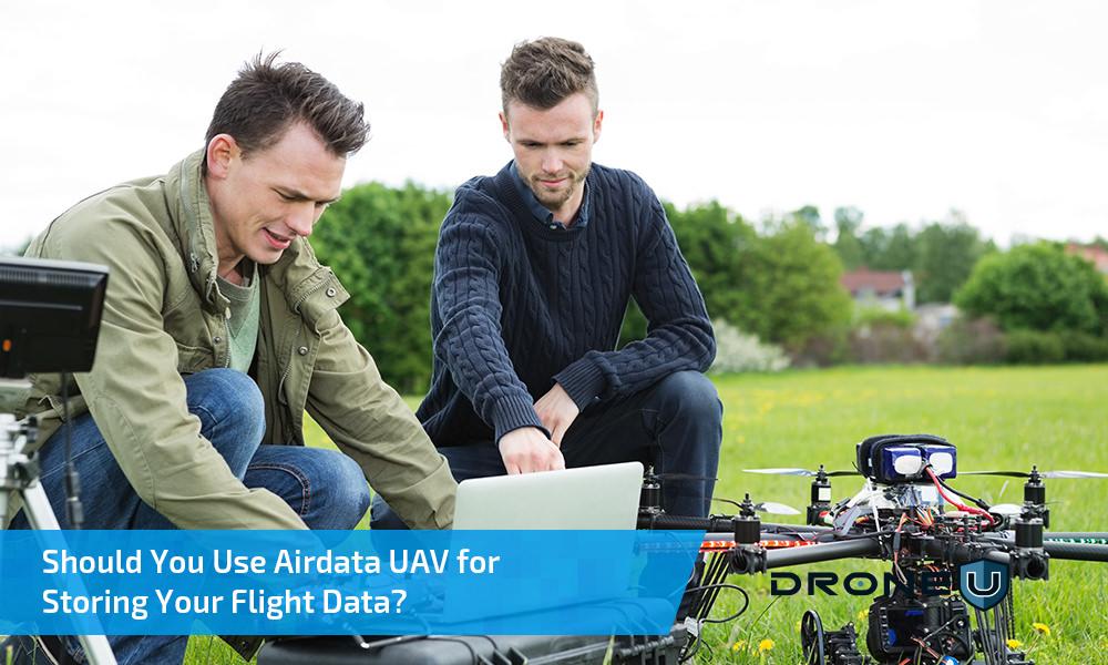 Should I use Airdata UAV for storing my flight data?