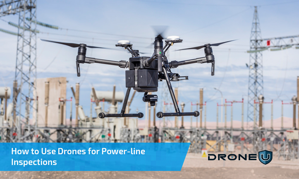How to Use Drones for Power-line Inspections - Drone U™