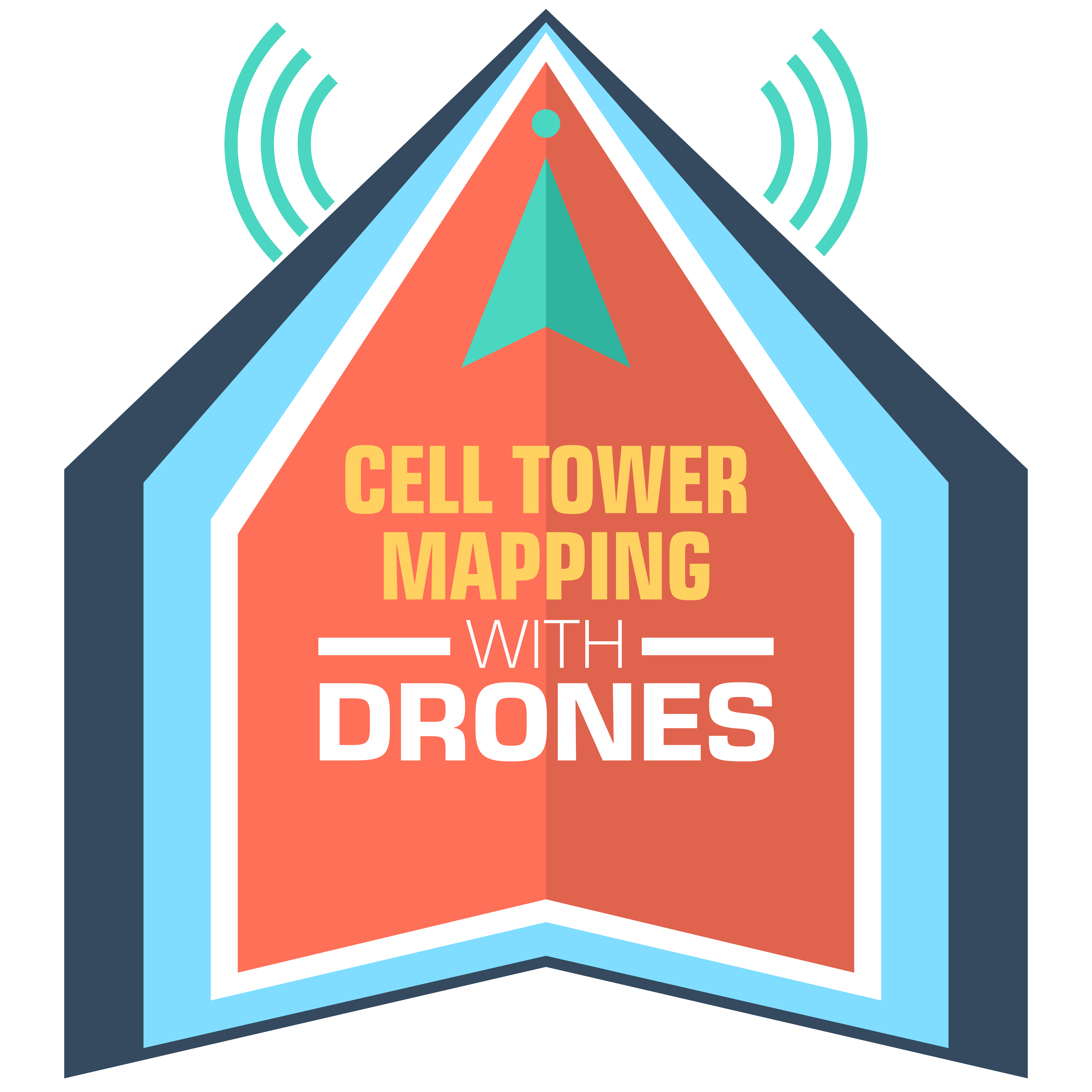 Cell Tower Mapping with Drones, UAV Mapping, and Cell Tower Inspections