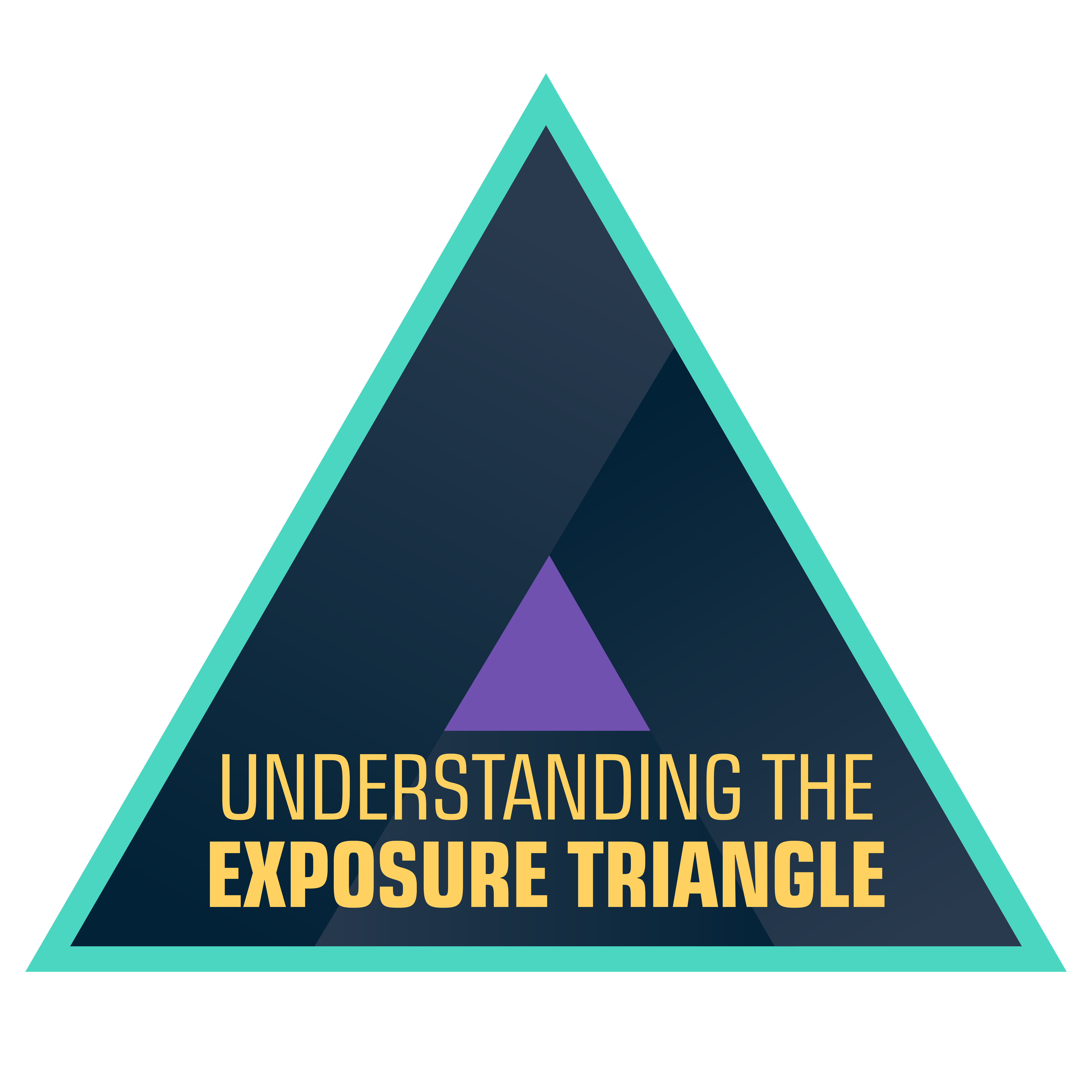 Photography course for drone pilots which is about understanding the exposure triangle