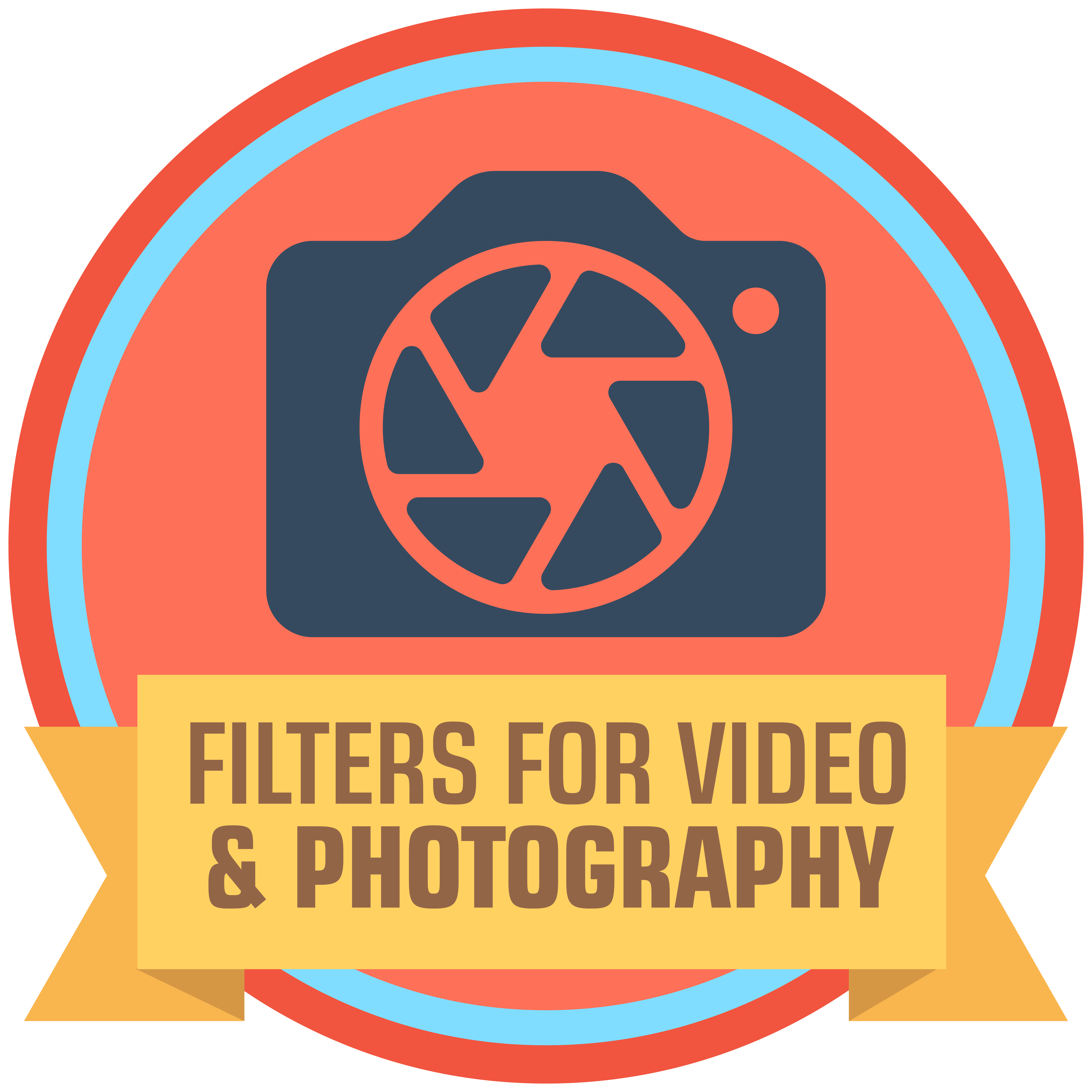 ND filter, UV filter and Polarizing filter for drone photography and videography
