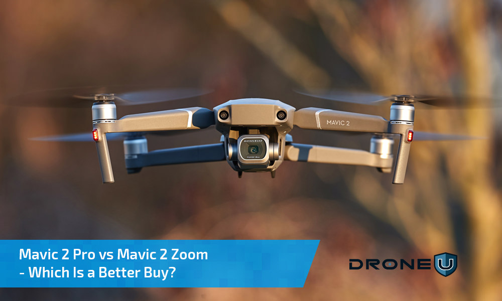 Mavic 2 Pro vs Zoom DJI Comparison