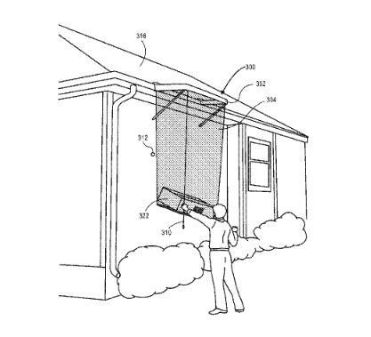 Amazon payload apparatus for drone deliveries