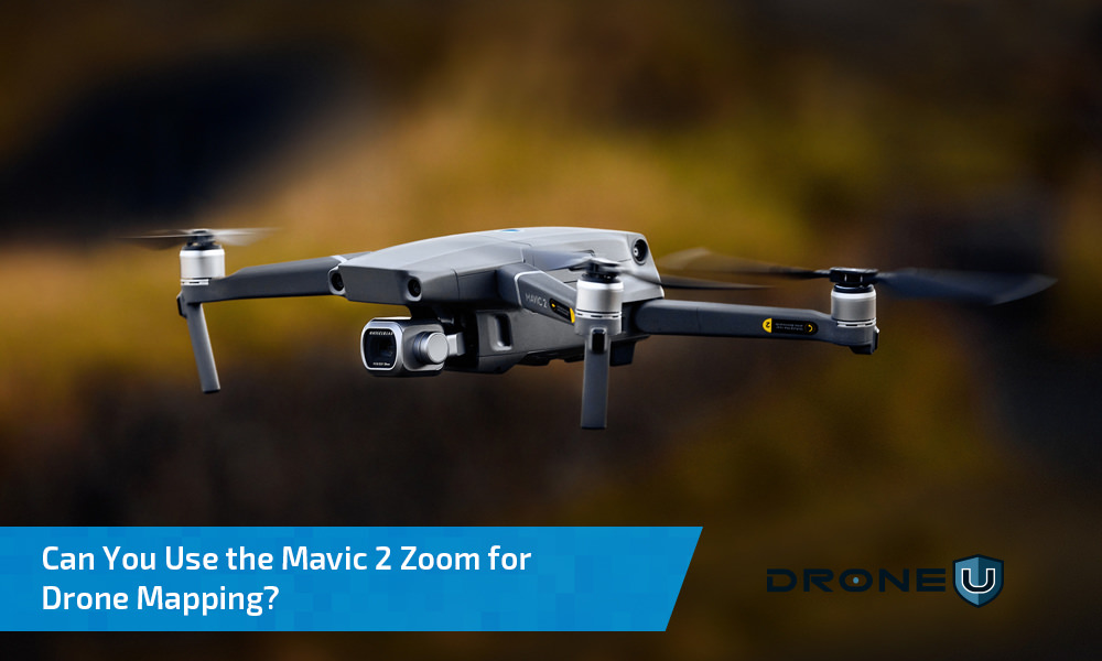 Can I use the Mavic 2 Zoom for Drone Mapping?