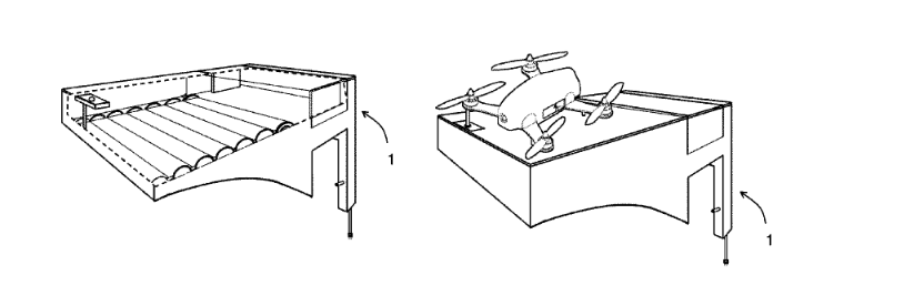 Landing pad patent and future drone technology for drone deliveries