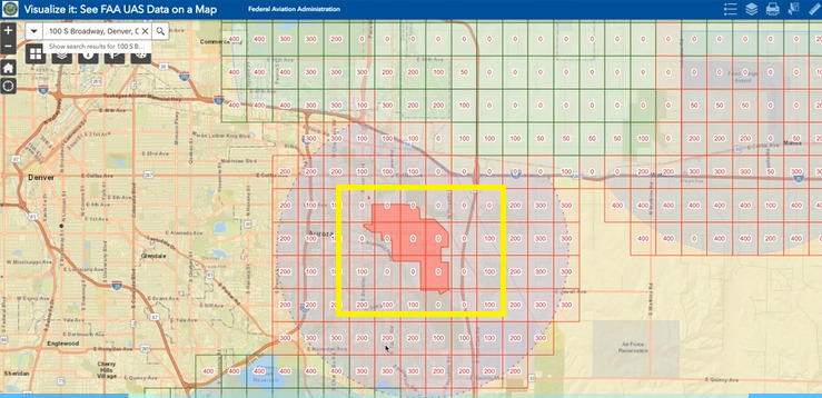 How to Read FAA LAANC Maps and Determine LAANC Approved Areas