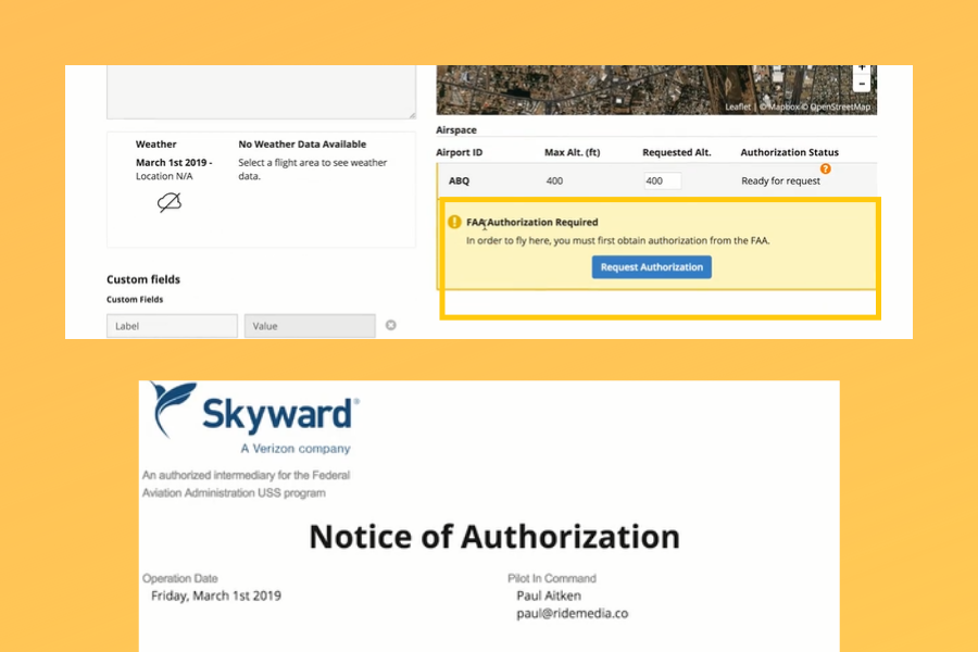 How to Get LAANC Approval Using KittyHawk and Skyward