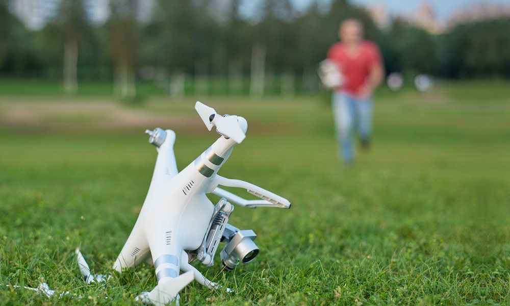 Report Drone Crash to FAA and NTSB
