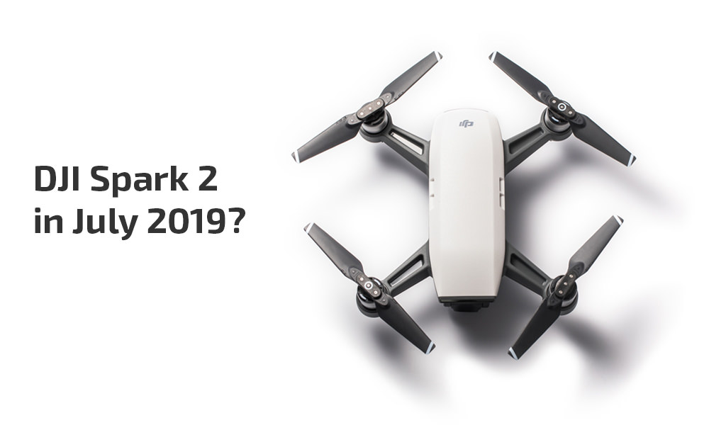 DJI Spark 2 release data and specs