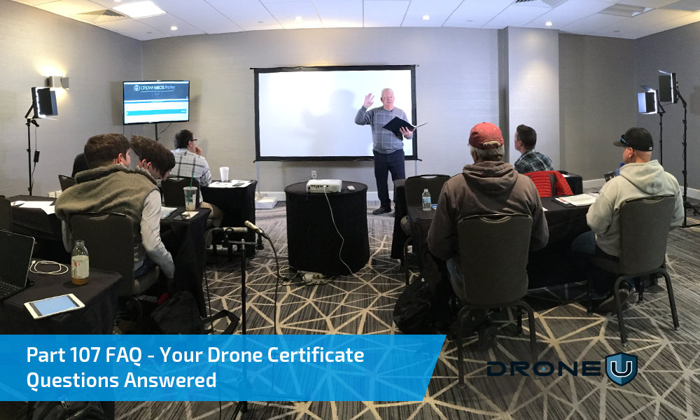 Part 107 License FAQ | Your Drone Certificate Questions Answered