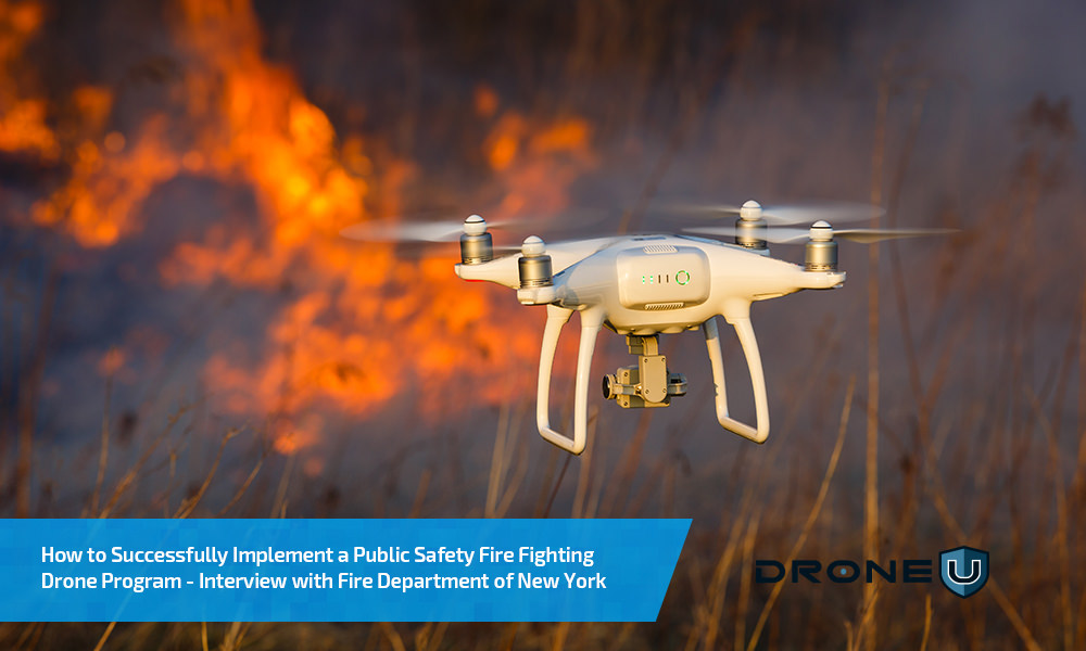How the FDNY is Successfully Using Fire Fighting Drones