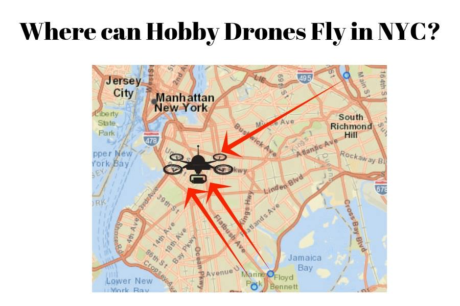 Where can Hobby Drones Fly in NYC