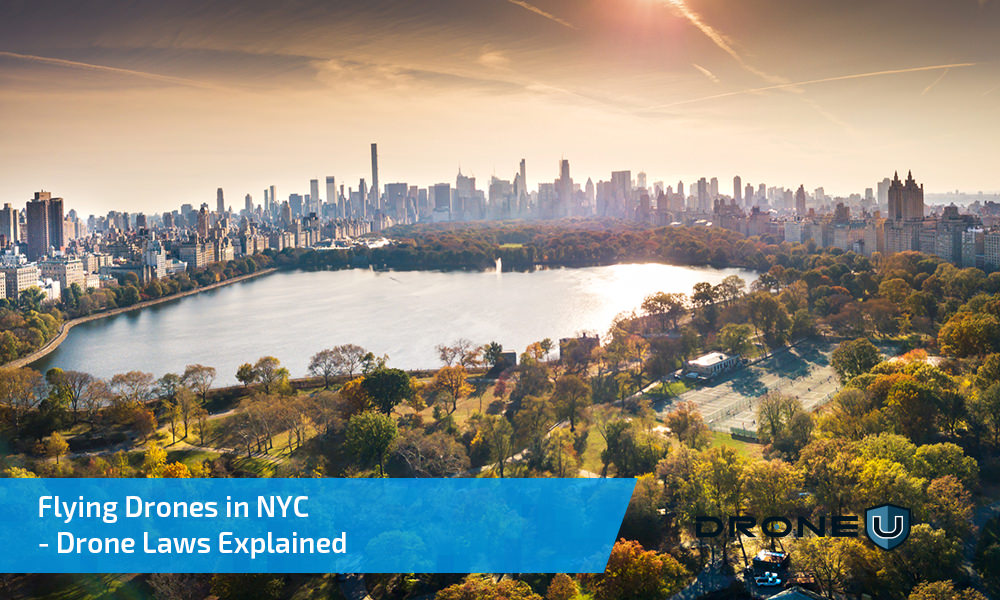 Flying Drones in NYC – Drone Laws Explained