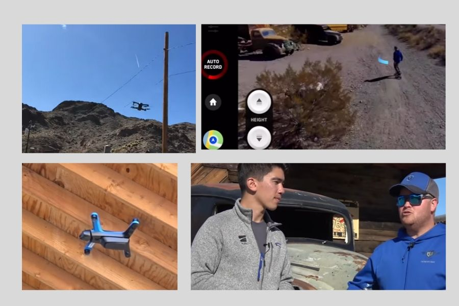 Skydio Autonomous Drone Review Collage