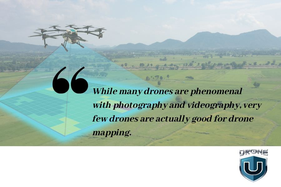 best drone for drone mapping