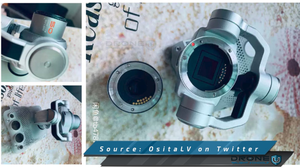DJI Mavic 3 leaked camera