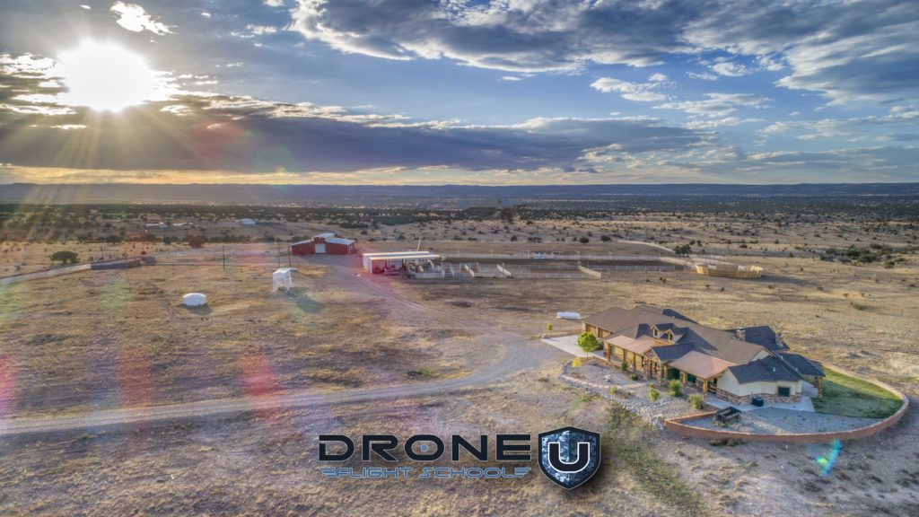 Learn how to fly and take aerial photos for real estate and ranch marketing.