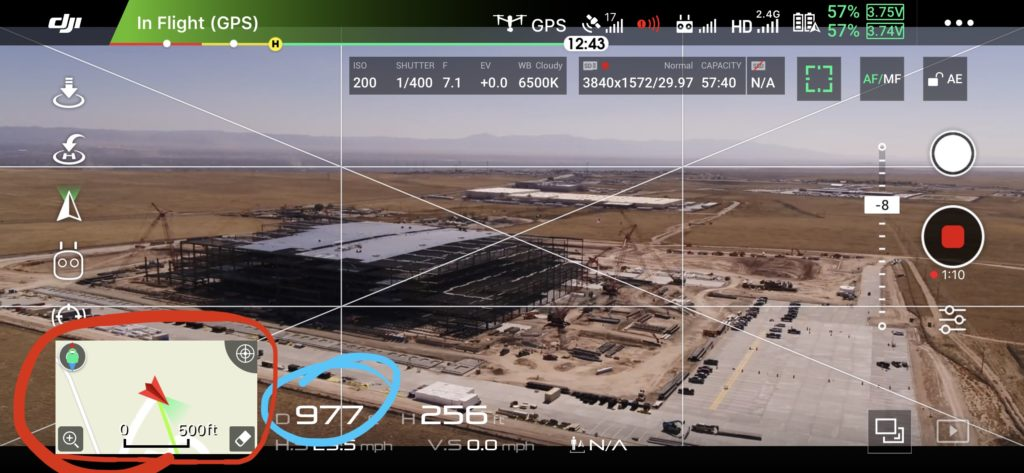how to know where your drone crashed