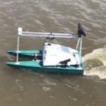 triad boat drone
