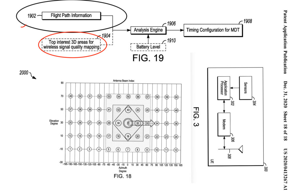 apple drone patent shows car connection
